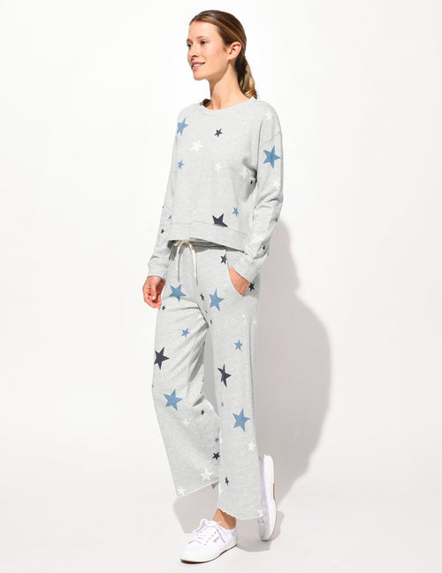 Sundry Stars Hi Low Slit Sweatshirt