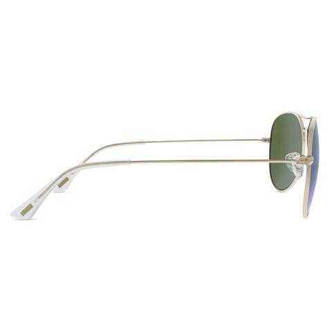 Diff Eyewear Cruz Aviator Sunglasses Gold Blue