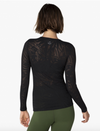 Beyond Yoga Oasis Mesh Pullover Top