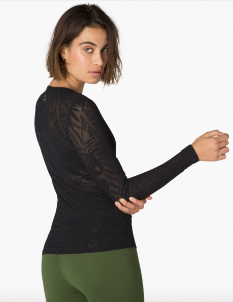 Beyond Yoga Oasis Mesh Pullover Sweater