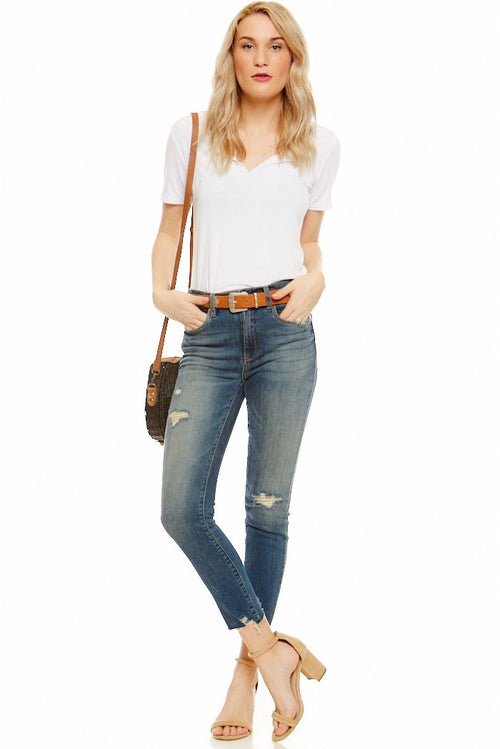 Blank NYC Losing It Distressed Skinny Jeans