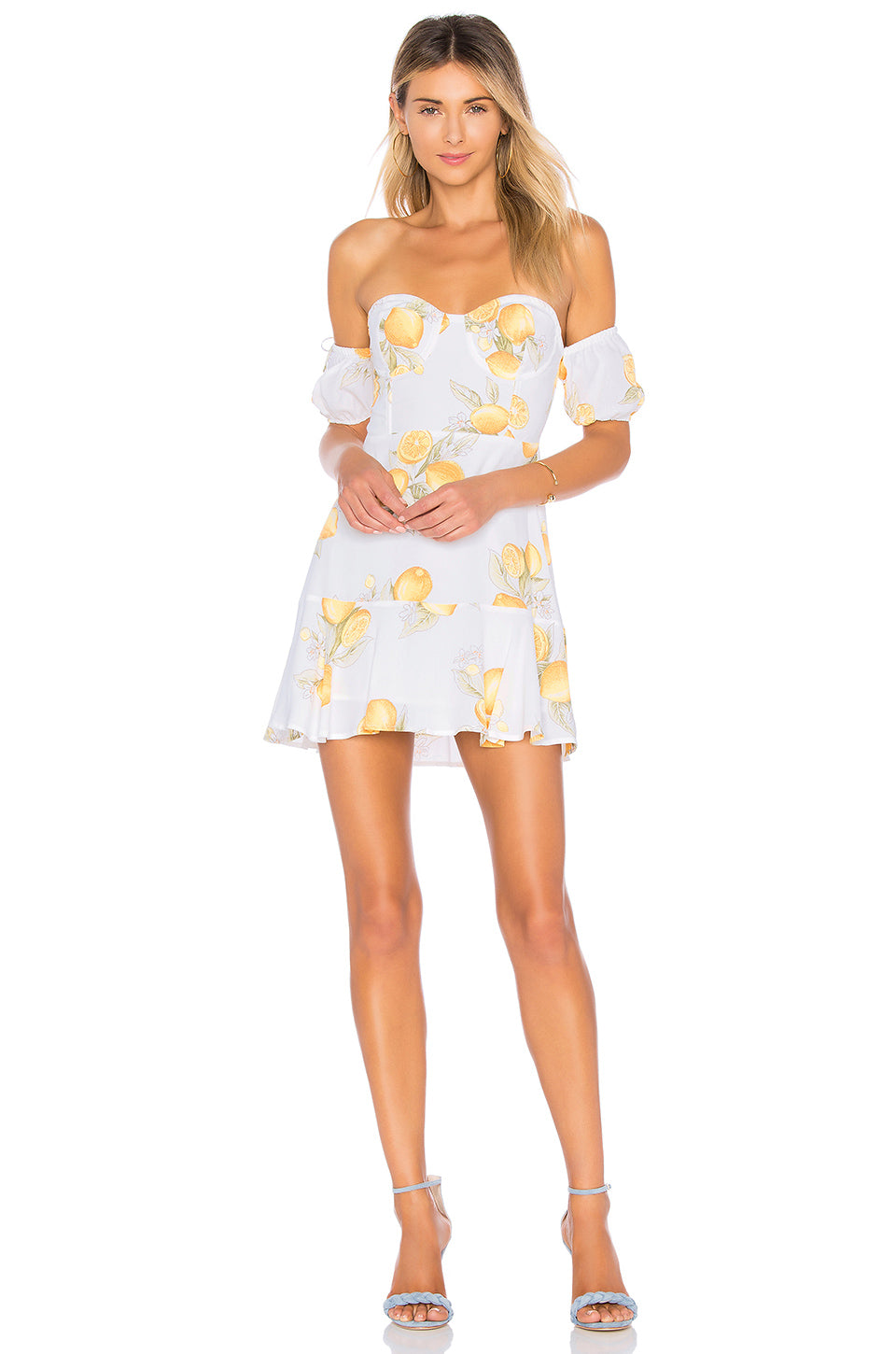 048a7d1c5bc5 For Love and Lemons Lemonade Mini Dress – Bliss Bandits