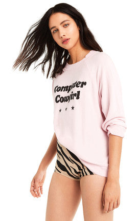 Wildfox Computer Cowgirl Sommers Sweater