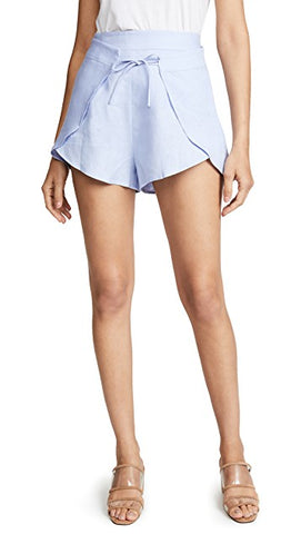One Teaspoon Venice Bandits Mid Waist Jean Shorts