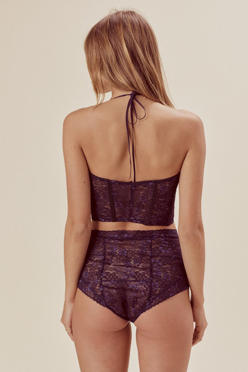 For Love and Lemons Mia Lace Underwire Bustier