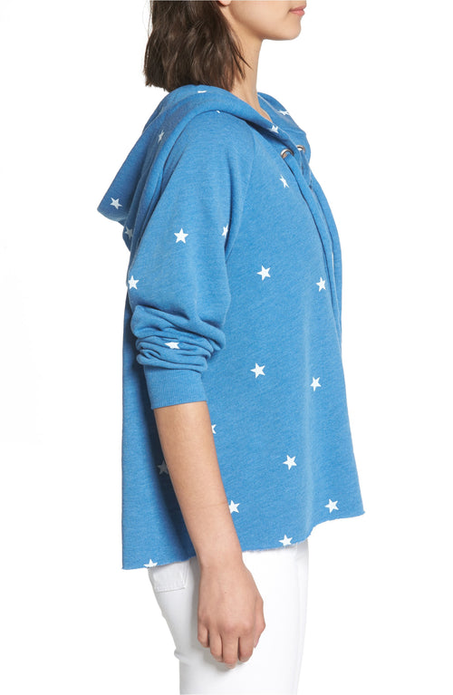 Wildfox Football Star Hutton Hoodie Sweater