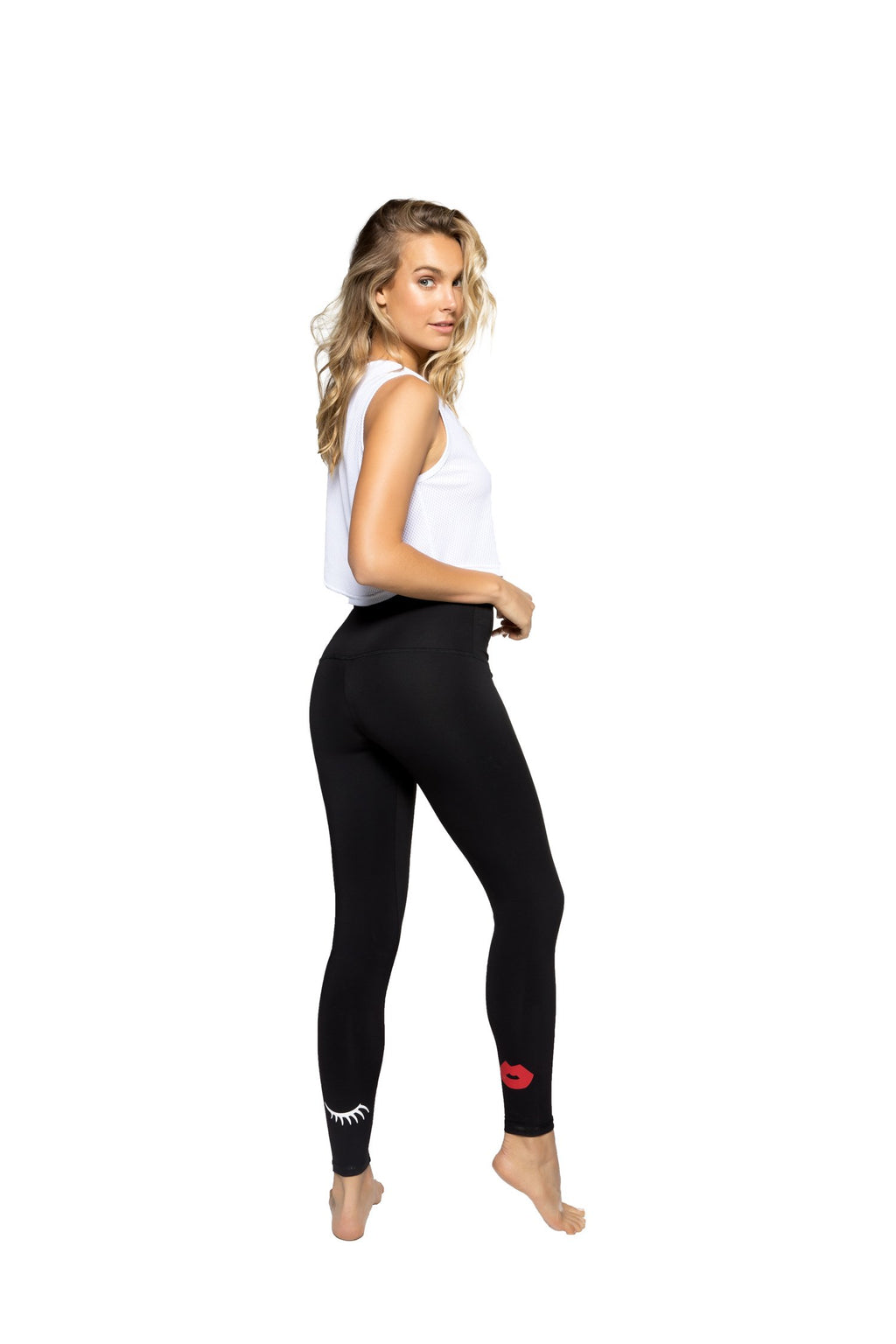 Strut This High Rise Kiss Me Ankle Leggings