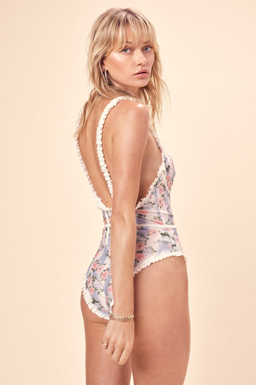 For Love and Lemons Swim Suit Charleston One Piece