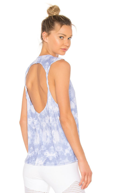 Onzie Twist Back Tank Top Oceana