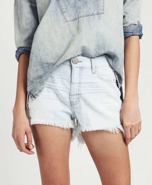 One Teaspoon Brando Bonita High Waist Denim Shorts