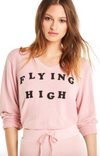 Wildfox Flying High Baggy Beach V Sweater