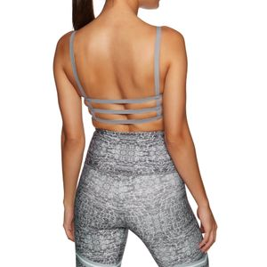 Onzie Graphic Elastic Bra Graphite Chevron