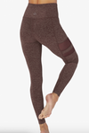 Beyond Yoga Iconic Silhouette Mesh Legging Red Rock