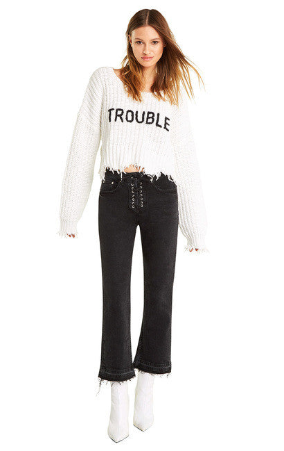 Wildfox Trouble Storm Sweater