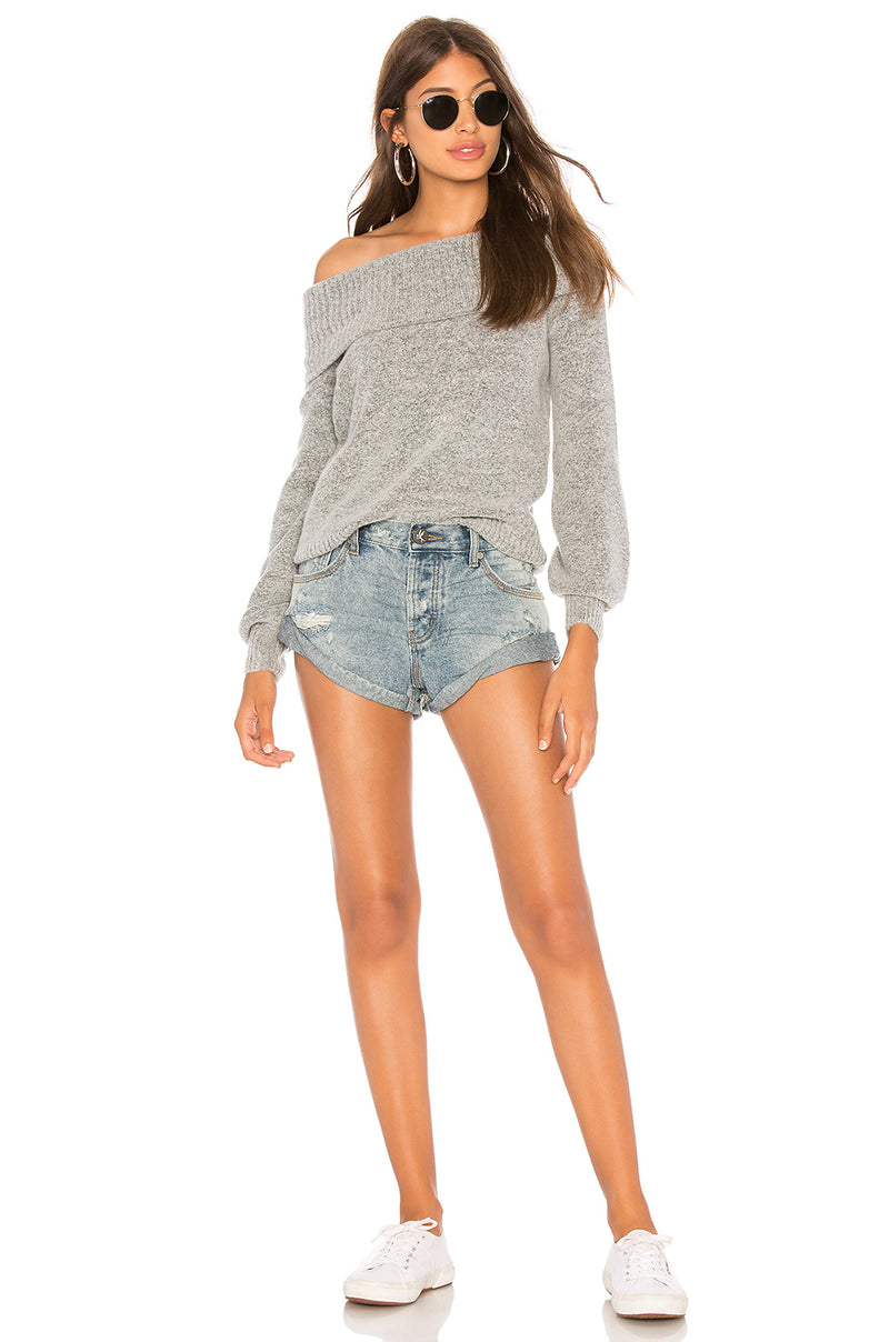 One Teaspoon Storm Boy Bandits Denim Shorts