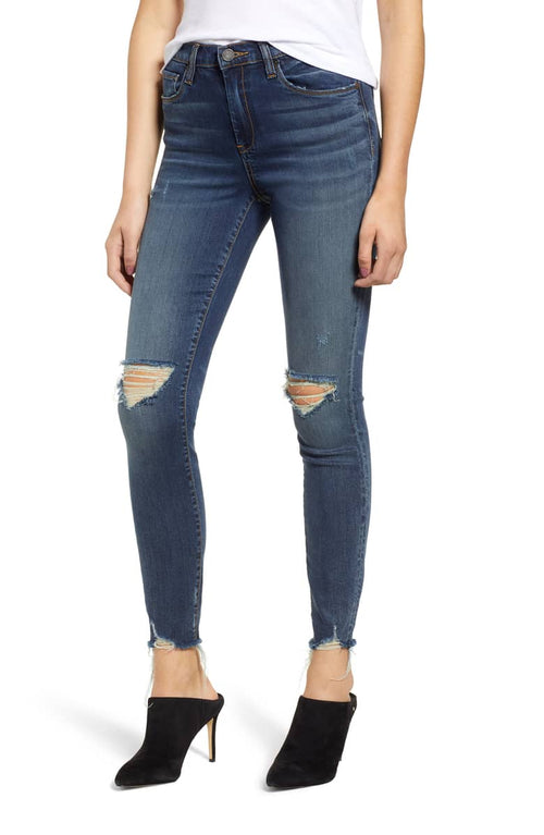 Blank NYC The Bond Distressed Skinny Jeans Gossip Girl