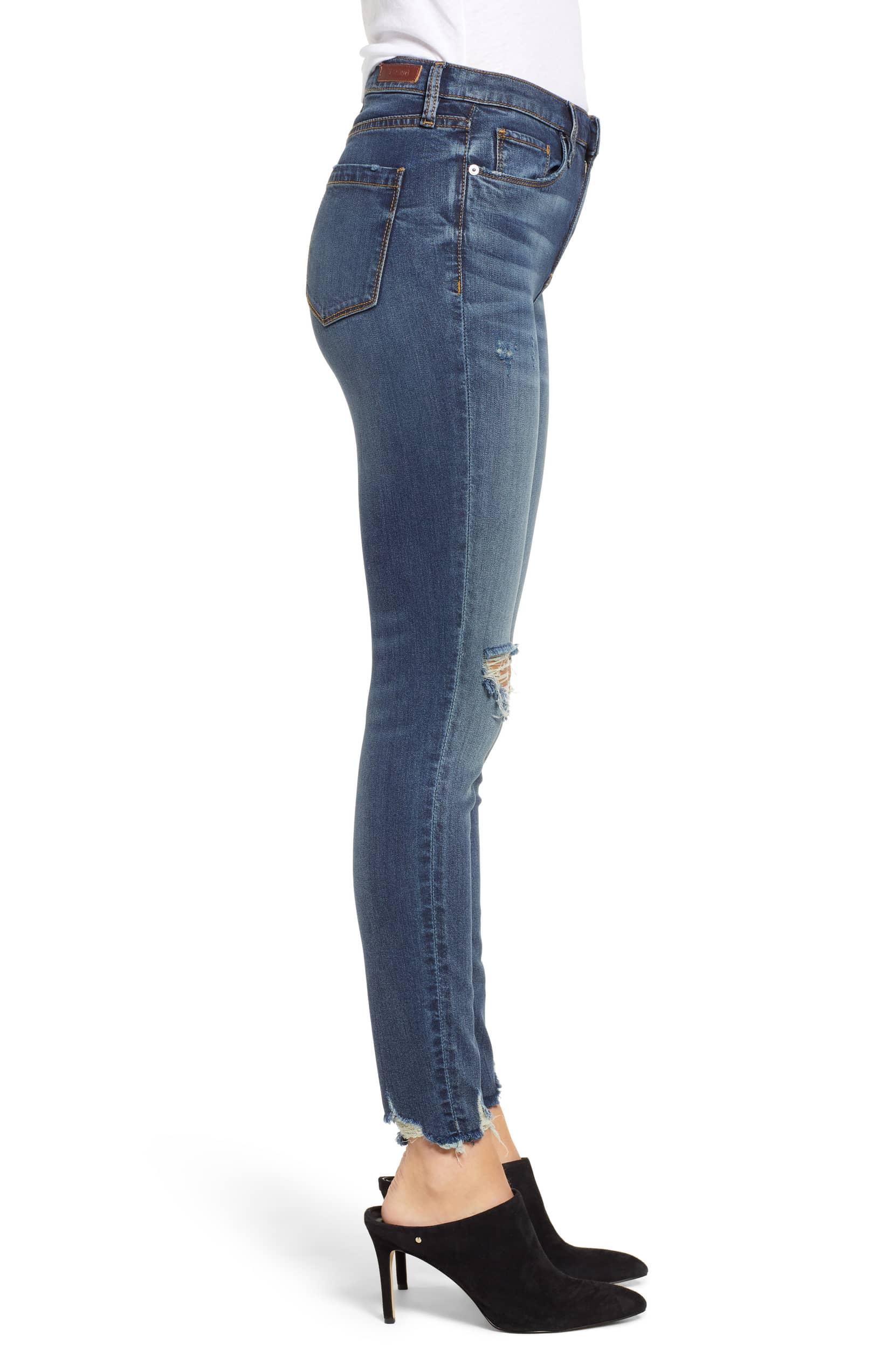 5e77fbbbcd06 Blank NYC The Bond Distressed Skinny Jeans Gossip Girl – Bliss Bandits
