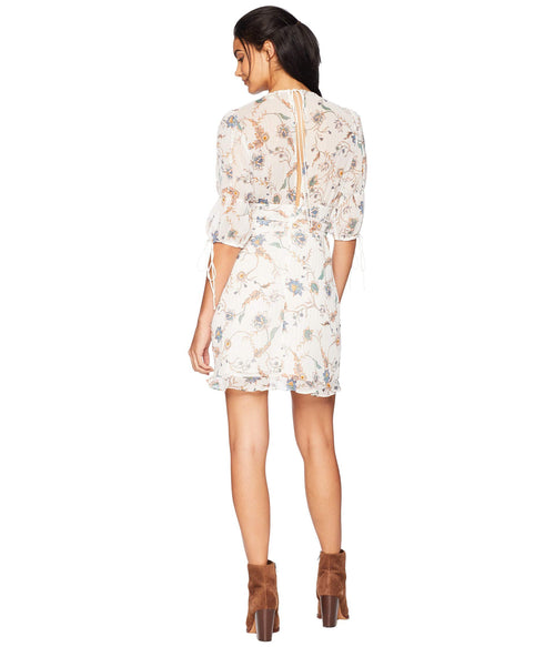 For Love and Lemons Elyse Flirty Mini Dress