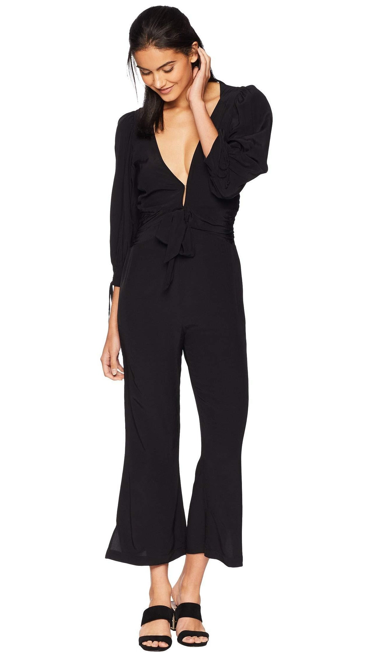 For Love And Lemons Georgi Jumpsuit Noir Bliss Bandits