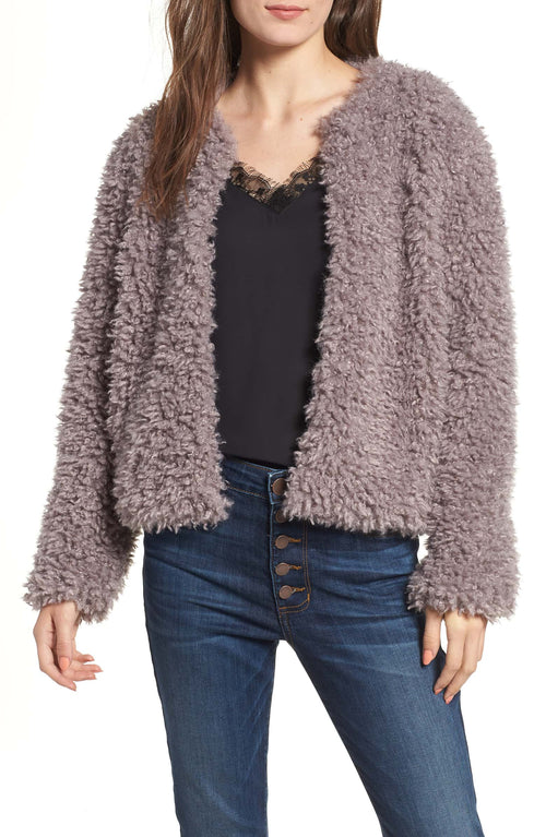 Somedays Lovin Unspoken Faux Fur Jacket