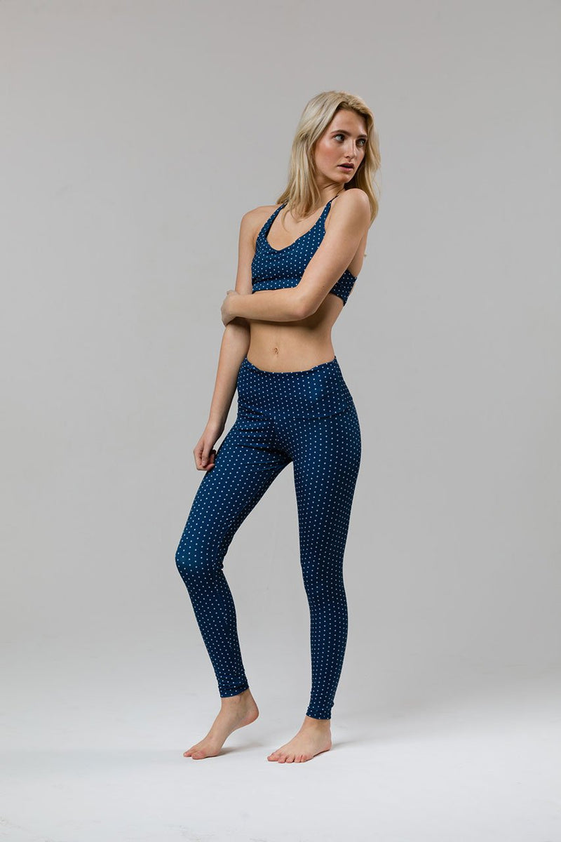 Onzie Pebble Dot High Rise Legging