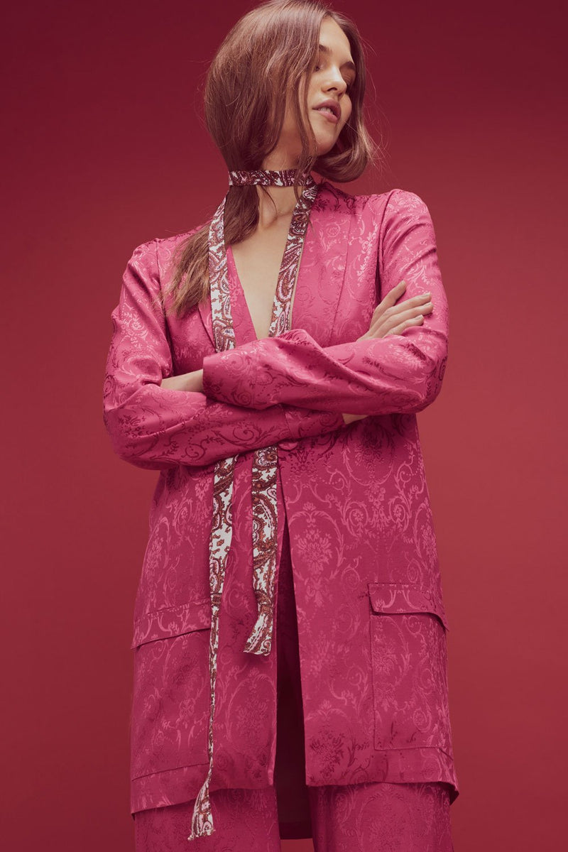 For Love and Lemons Lara Smoking Jacket