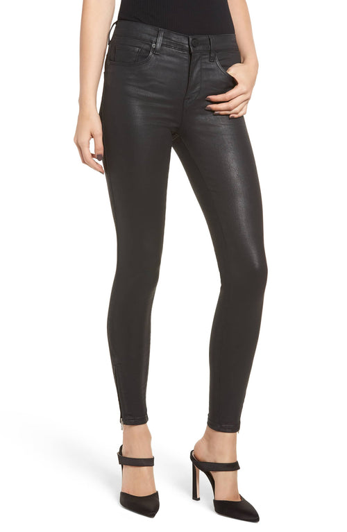 Blank NYC The Bond Coated Skinny Jeans Pants
