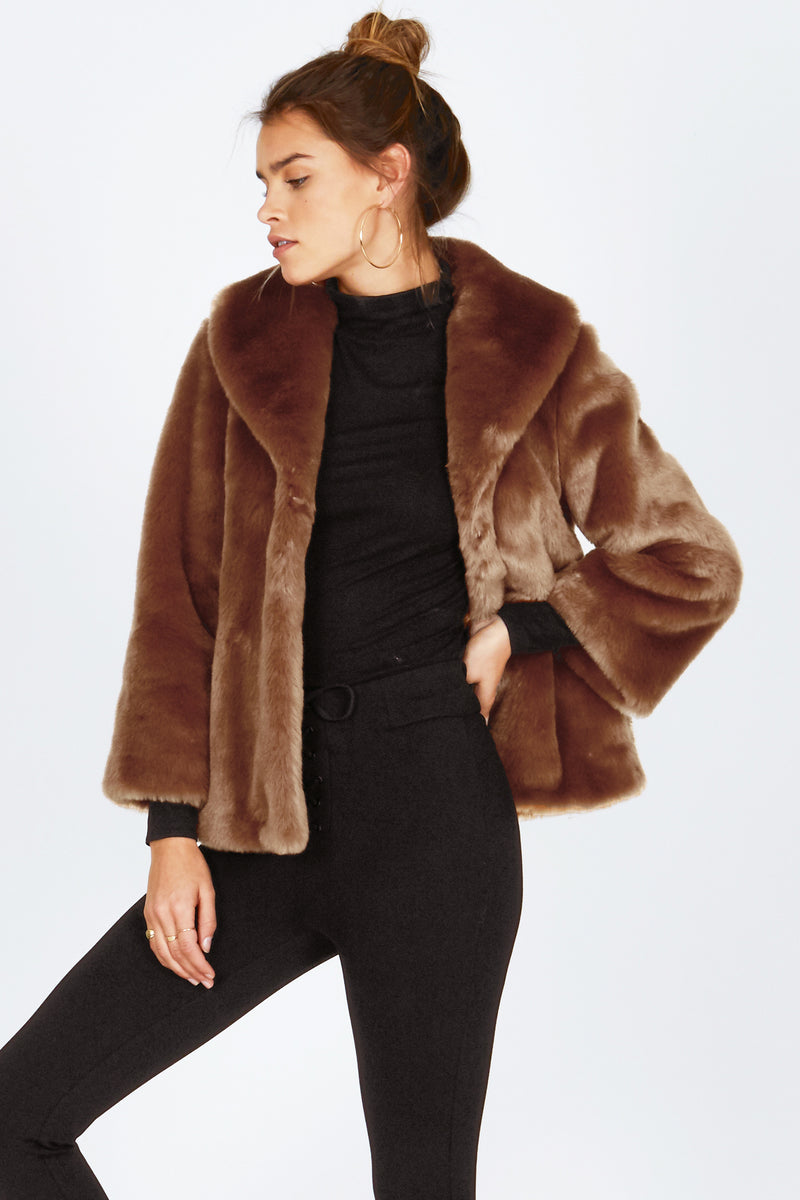 Amuse Society Fur Ever Mine Jacket