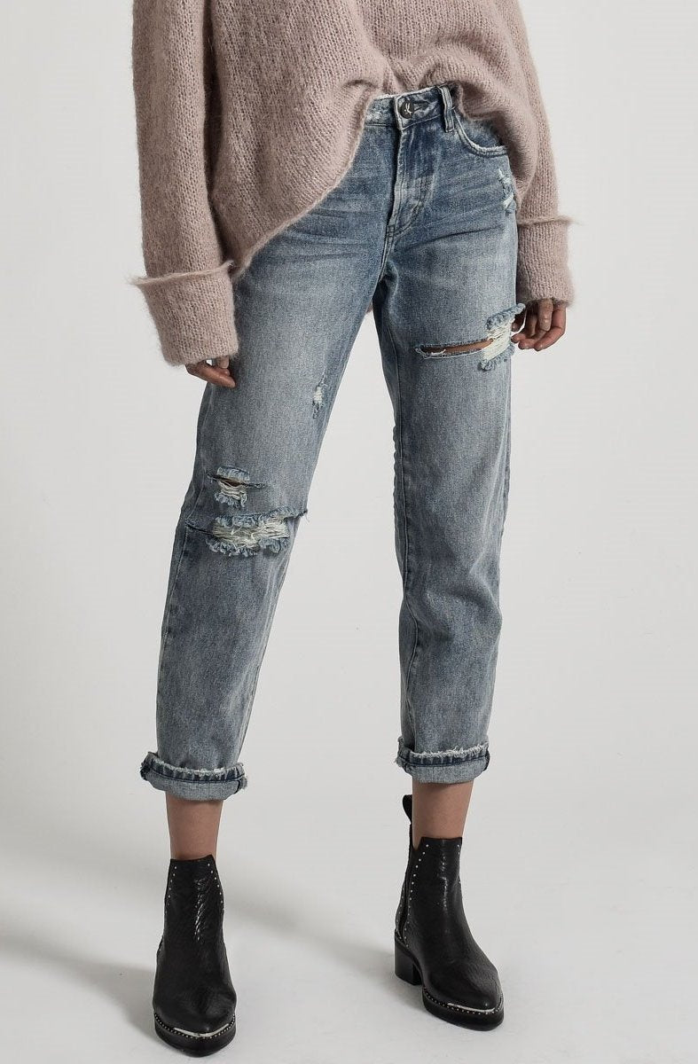lovely luster preview of top quality One Teaspoon High Waist Rocky Awesome Baggies Jeans