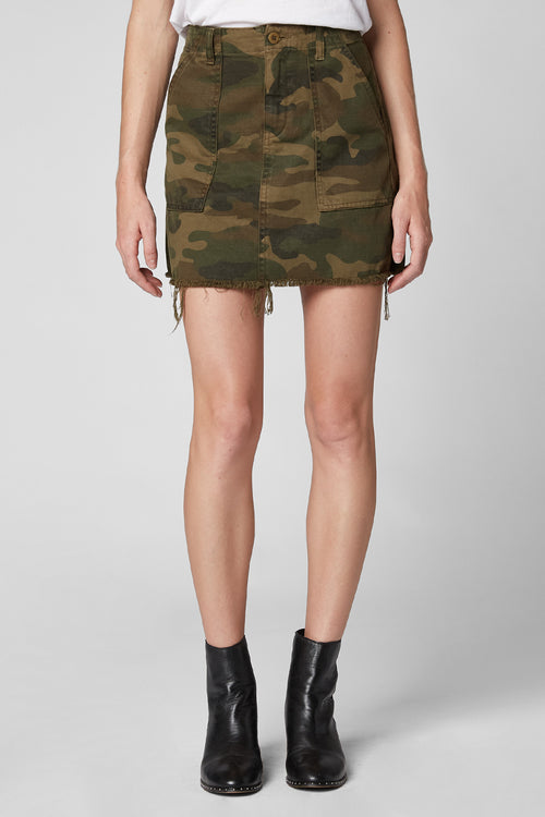 Blank NYC Chain of Command Camo Skirt