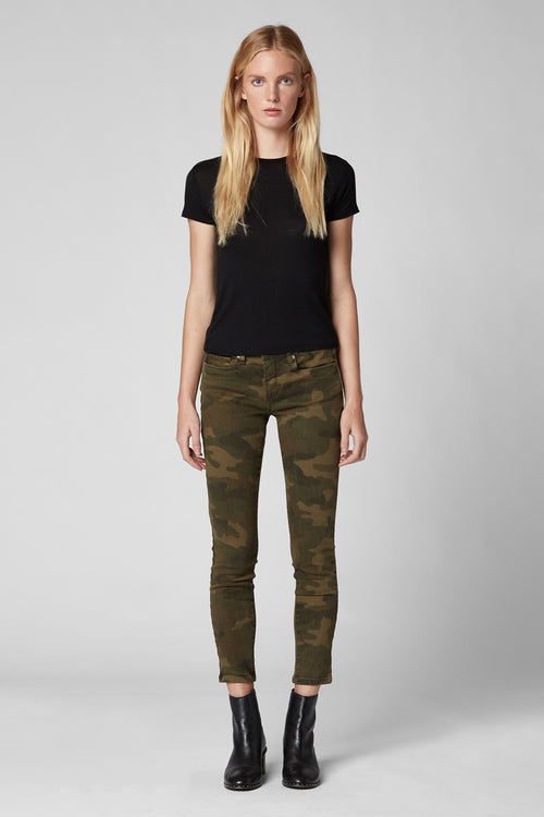 Blank NYC The Reade Skinny Crop Scout Pant Camo