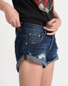 One Teaspoon Blue Moon Bandits Denim Shorts