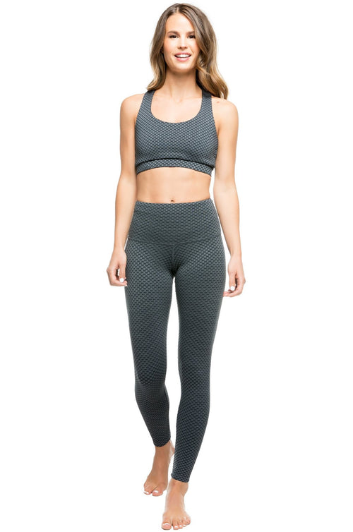 Strut This Teagan High Rise Dark Mosaic Leggings