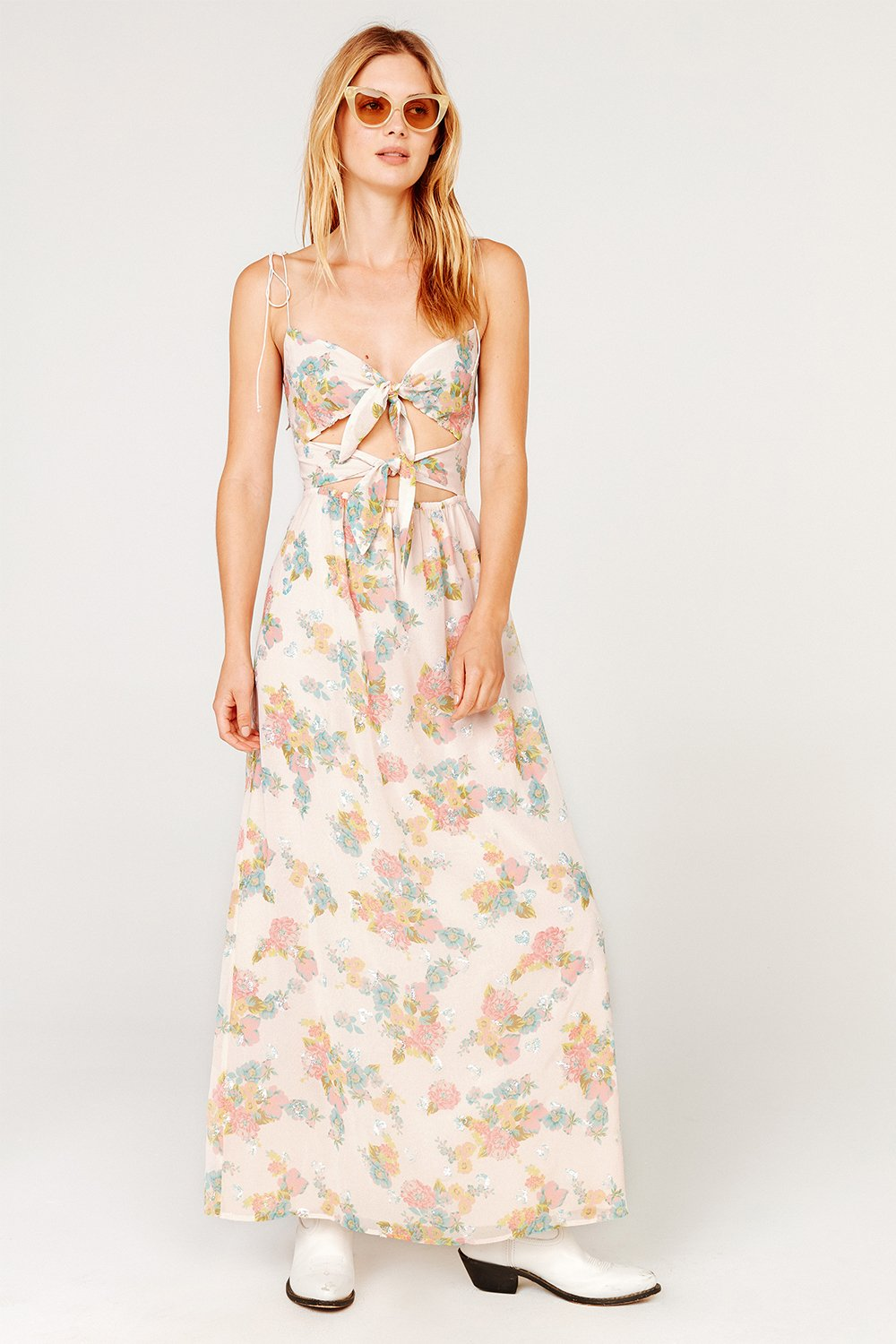 91f97315a593 For Love and Lemons Louisa Maxi Dress