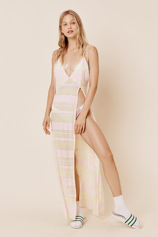 For Love and Lemons Swim Suit Iman Laced One Piece