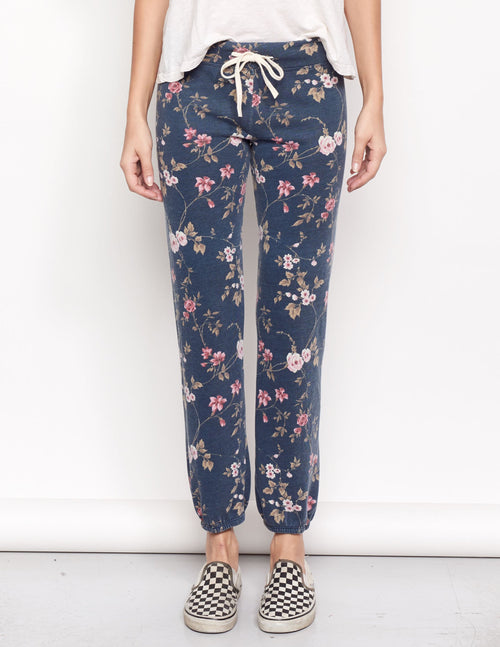 Sundry Floral Classic Sweatpant
