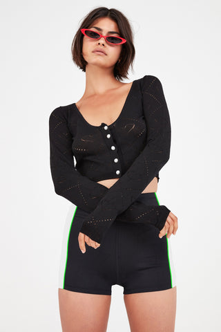 For Love and Lemons Annie Zipper Sweater