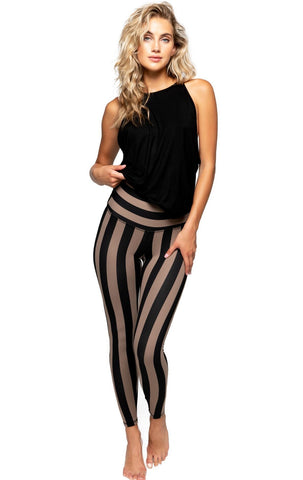 Blank NYC Jersey Girls Stripe Jean Pant
