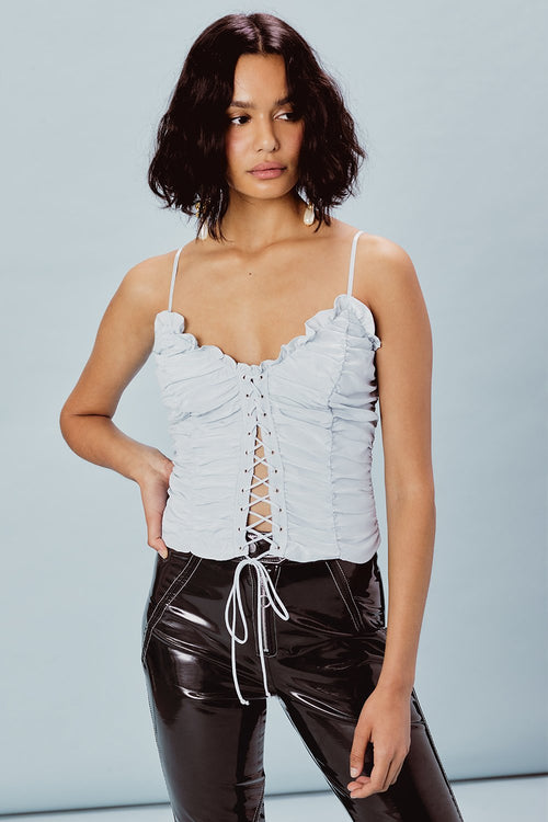 For Love and Lemons Palmetto Corset Cami