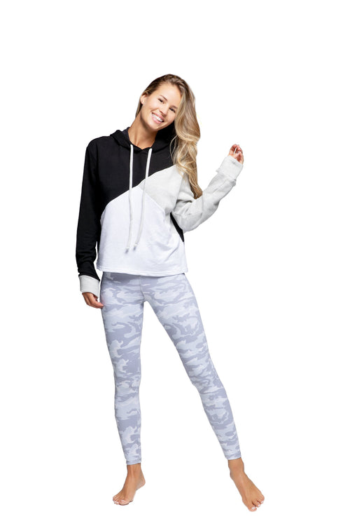 Strut This Teagan Ankle Legging White Camo
