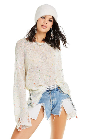 Wildfox Electric Pierce Hoodie Sweater