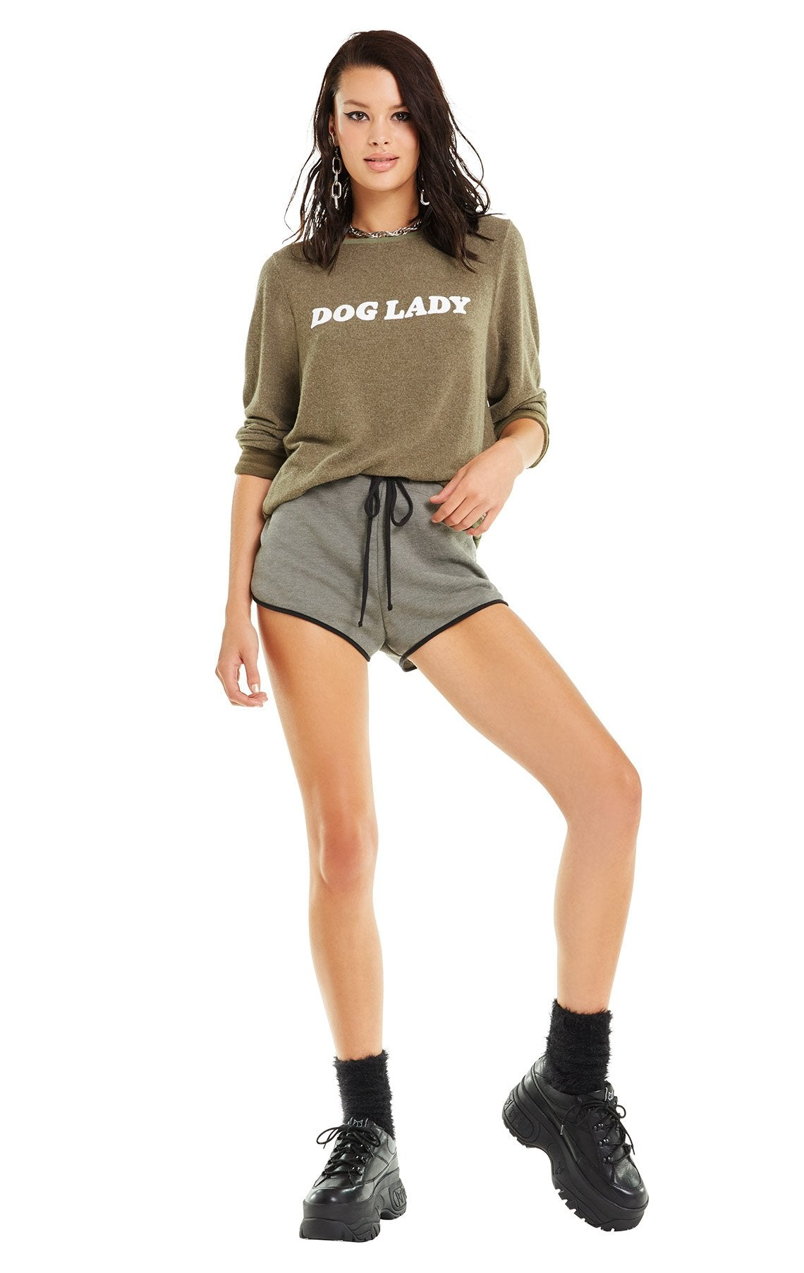 e4a3e8160f Wildfox Dog Lady Baggy Beach Jumper Sweater – Bliss Bandits