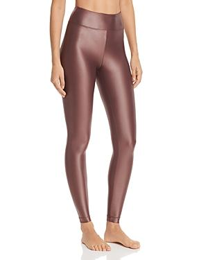 Koral High Waist Lustrous Legging Bordeaux