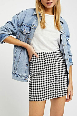 Blue Life Grace High Waisted Wrap Skirt