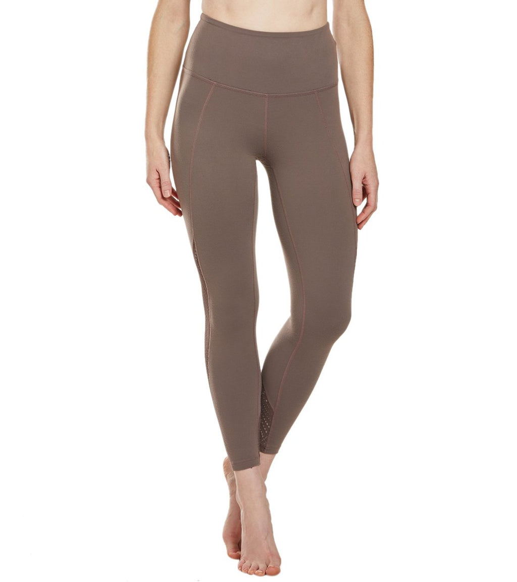 Beyond Yoga Mesh in Line High Waisted Midi Leggings