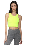 Strut This Piper Bra Neon Yellow
