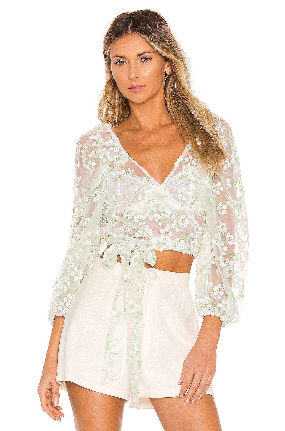 407f1ae9f33 For Love and Lemons Eclair Crop Top – Bliss Bandits