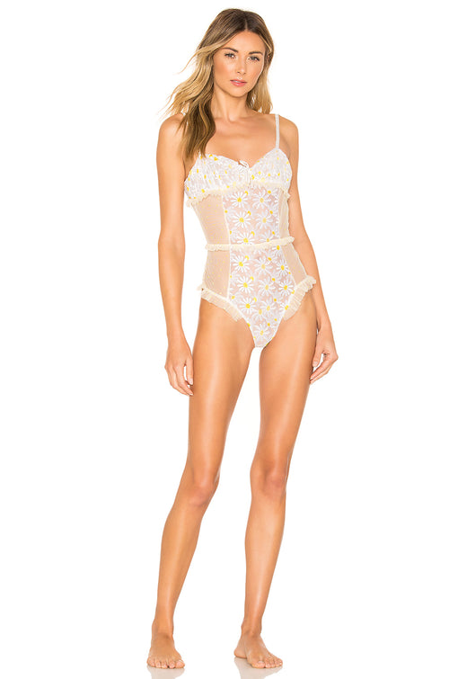 For Love and Lemons Sugar Plum Bodysuit