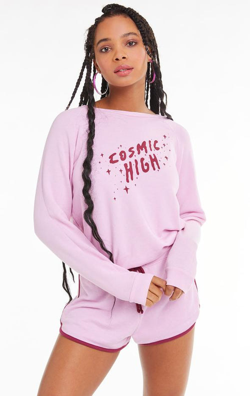 Wildfox Cosmic High Fiona Crew Sweater