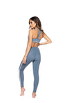 Strut This Noey Sports Bra Baby Blue